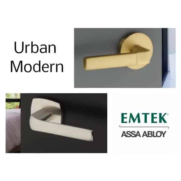 New from EMTEK! Aston & Spencer Modern Levers