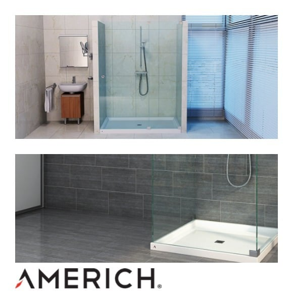 Americh Announces New Designer Shower Bases