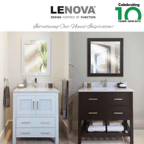 2nd Generation of Lenova Vanities Now Available