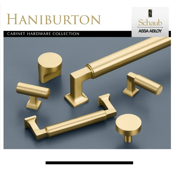 New from Schaub! Introducing Haniburton Cabinet Hardware Collection