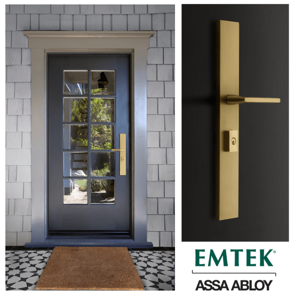 Introducing Emtek's New Large Multi-Point Entry Set Hardware Collection