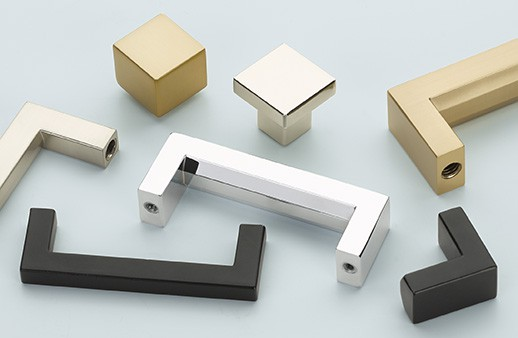 New! Modern Rectangular Cabinet Hardware Collection from Emtek