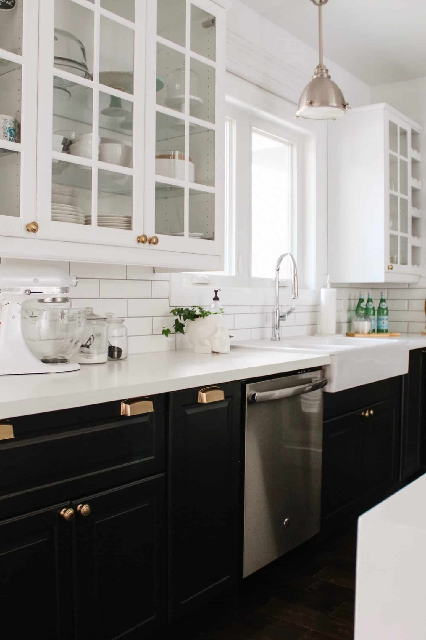 Looking for a Kitchen Refresh? So was Skye Cecilia! She Used Schaub and Company Hardware to Complete the Look
