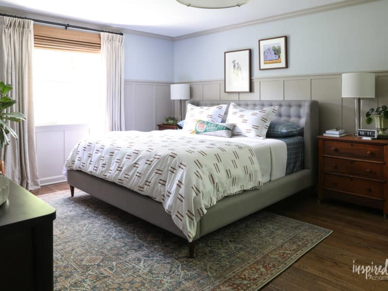 Emtek and Schaub's One Room Challenge Finalist: Inspired by Charm for a Master Bedroom Design