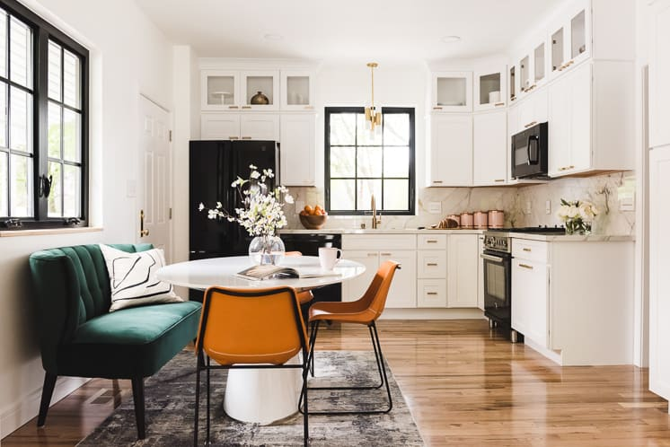 Emtek and Schaub's One Room Challenge Finalist: The House that Lars Built for their Dramatic Kitchen Renovation