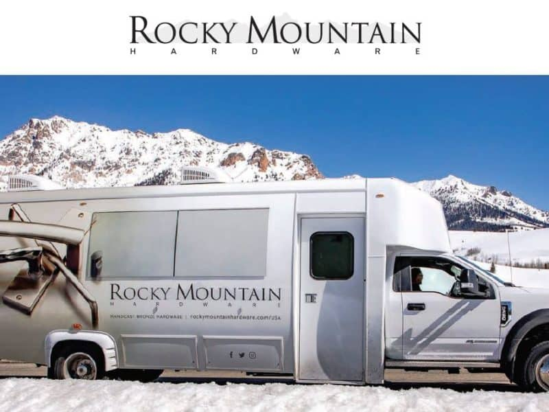Introducing the 2019 Rocky Mountain Hardware (RMH) Road Show