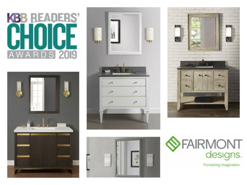 Fairmont Designs – Six Time Winner of the Kitchen and Bath Business Magazine Reader's Choice Award for Best Bath Cabinets and Vanities