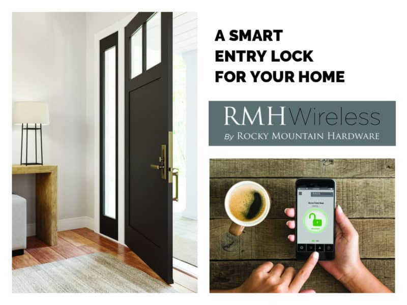 Introducing Rocky Mountain Hardware Wireless Lock