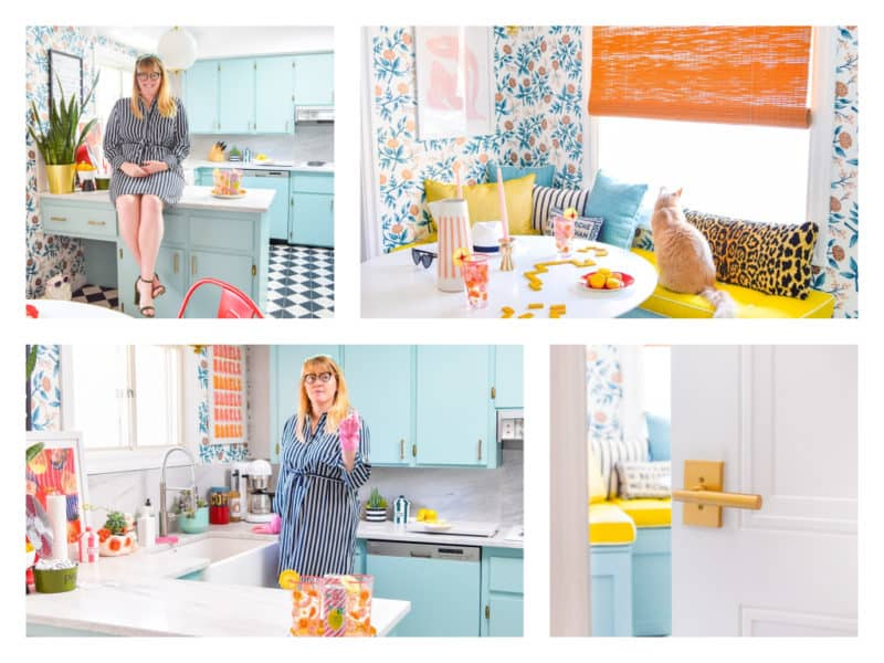 How-to Design a Retro Glam Kitchen with Ariel from PMQ for Two