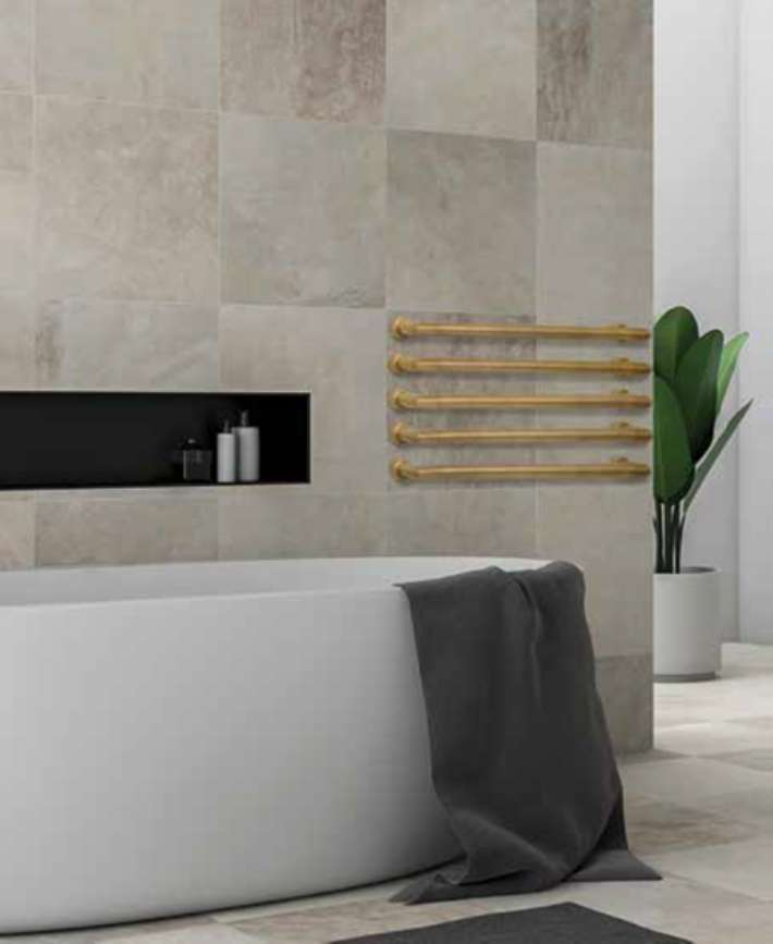 Add a Little Indulgence to Your Space this Winter with Watermark's Heated Towel Bars
