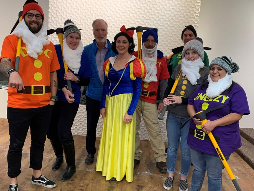 Snow White and the Seven Dwarfs!