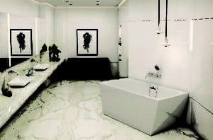 featured image Glacion Freestanding Tub in an elegant bathroom