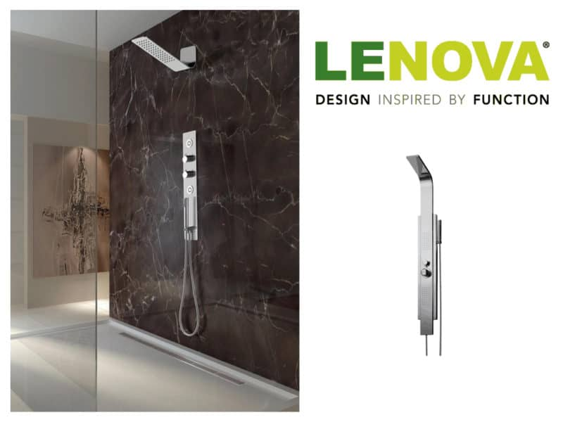Lenova's New Industry-First Thermostatic Shower System
