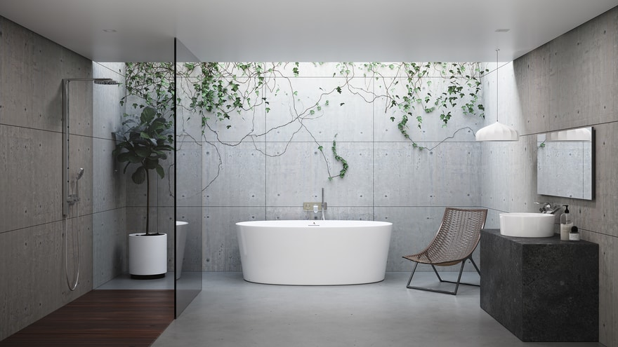 inline image showing Americh's new seamless tub the Orleans