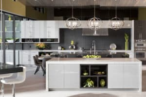 Featured Image of a designer kitchen featuring EMTEK products