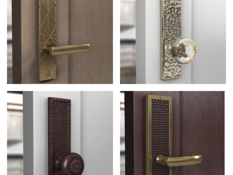 I Just Designed These! You Can Too Using Rocky Mountain Hardware's Design Your Own Door Hardware Composer