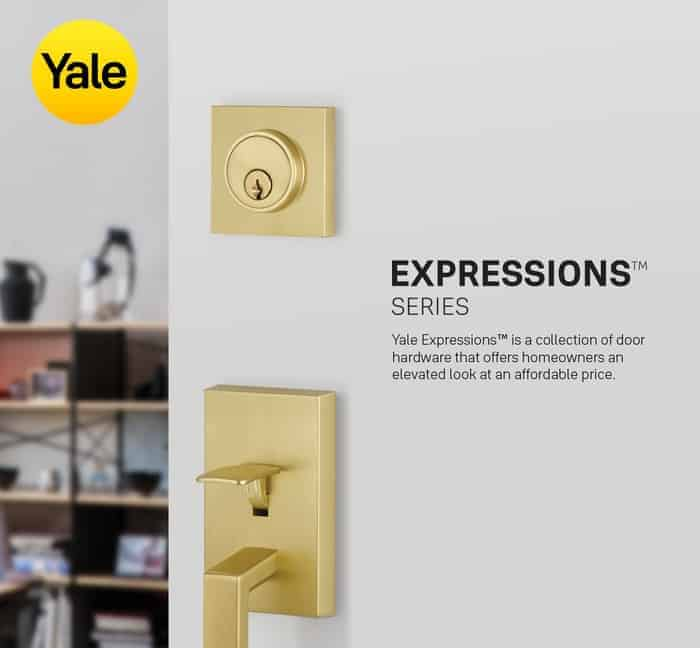 We Are Pleased to Introduce the New Yale Expressions™ Series, Available Exclusively to EMTEK Dealers