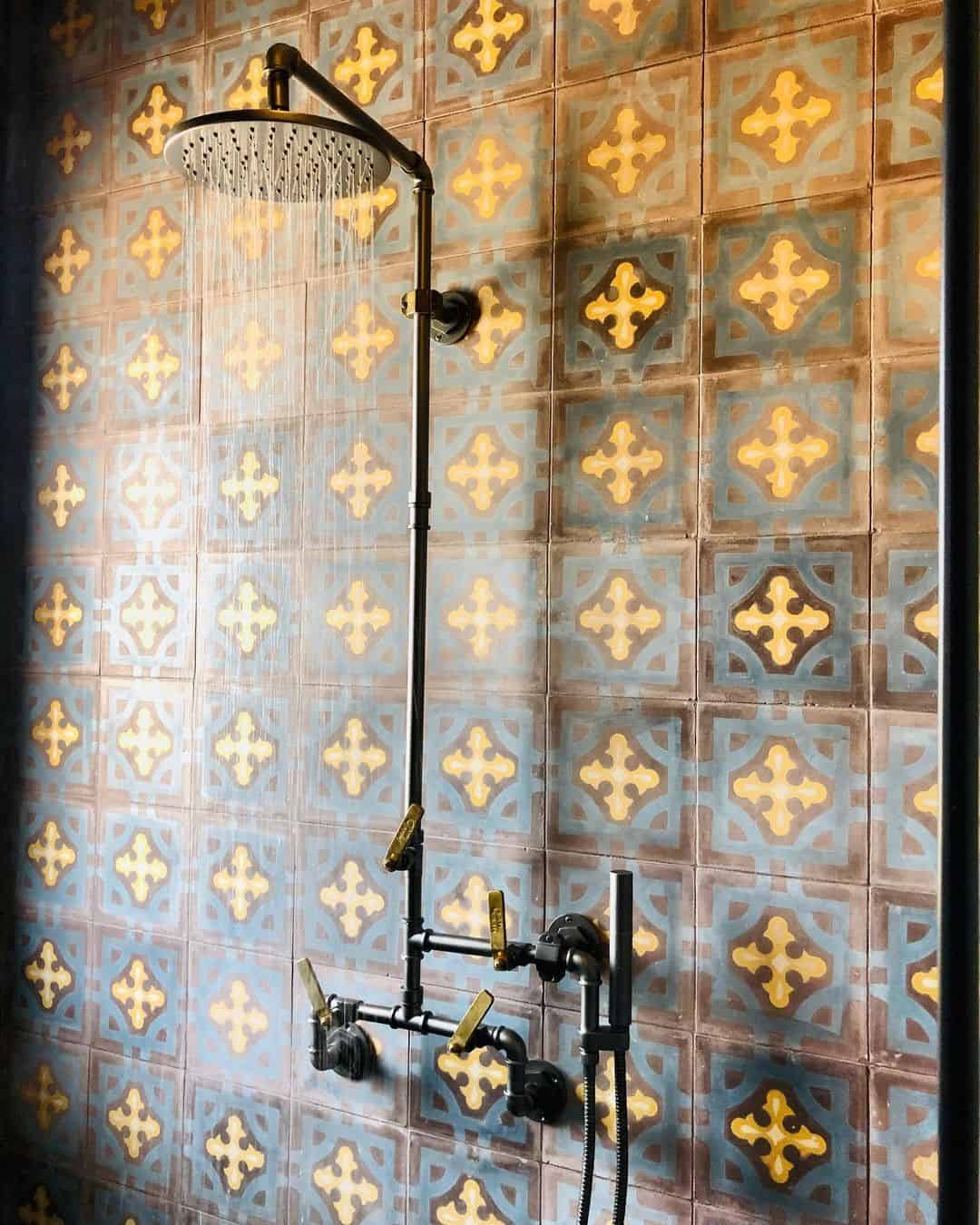 featured image showing - Elan Vital Collection against hand painted tile in golden light