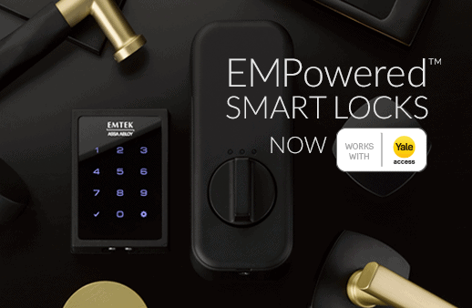 featured image showing EMPowered™ Smart Locks now Work with Yale Access