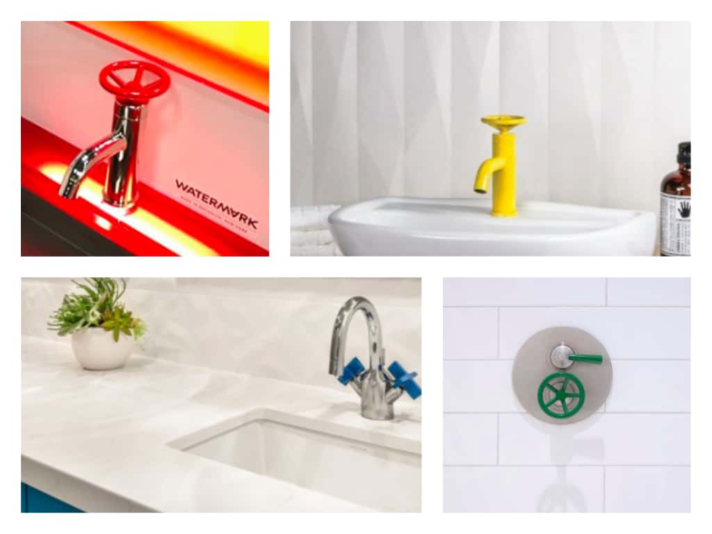 featured image showing a collage of watermark design custom colored finishes