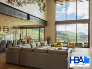 featured image showing the modern interior of a Park City area home