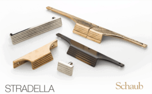 featured image showing the stradella cabinet pull collection from Schaub