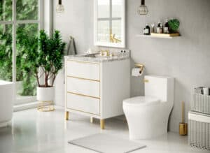 Featured image showing luxury bathroom products and fixtures from ICERA's Muse Collection