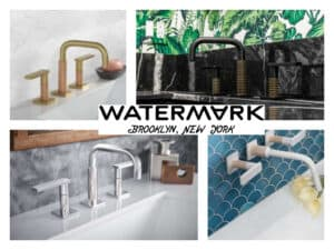 featured image showing Watermark Design's Lily 79 collection of faucets